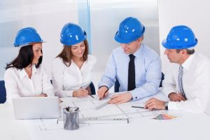 Architects Working On Project
