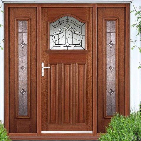 vrata od punog drveta