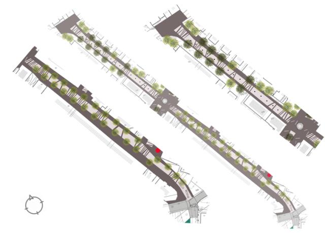Slika 3: Prijedlog rješenja - rad Instituta za arhitekturu, Arhitektonskog fakulteta Sarajevo