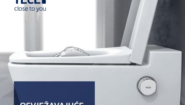 OSVJEŽAVAJUĆE DRUGAČIJI! Izgleda kao običan WC, ali u sebi skriva mnogo toga: integrirana funkcija bidea čisti nježnom, toplom vodom i pruža Vam osjećaj čiste svježine. I to jednim okretajem kotačića. Jer se WC školjkom TECEone može upravljati potpuno intuitivno. Bez struje. Bez nepotrebnih dodataka. Savršena higijena uz atraktivnu cijenu. Dobro […]