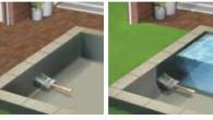 UPOTREBA Omogućava trajnu vodonepropusnost na betonu, ciglama i drugim građevinskim površinama posebno je dizajniran za hidroizolaciju i zaštitu temelja, podzemnih ili delimično ukopanih zidova, manjim jezercima ili tankovima, itd. Pogodan za zaštitu od površinske kondenzacije POTROŠNJA Nanosi se na mat vlažnu površinu u dva sloja. Sušenje između slojeva oko 4-6 […]